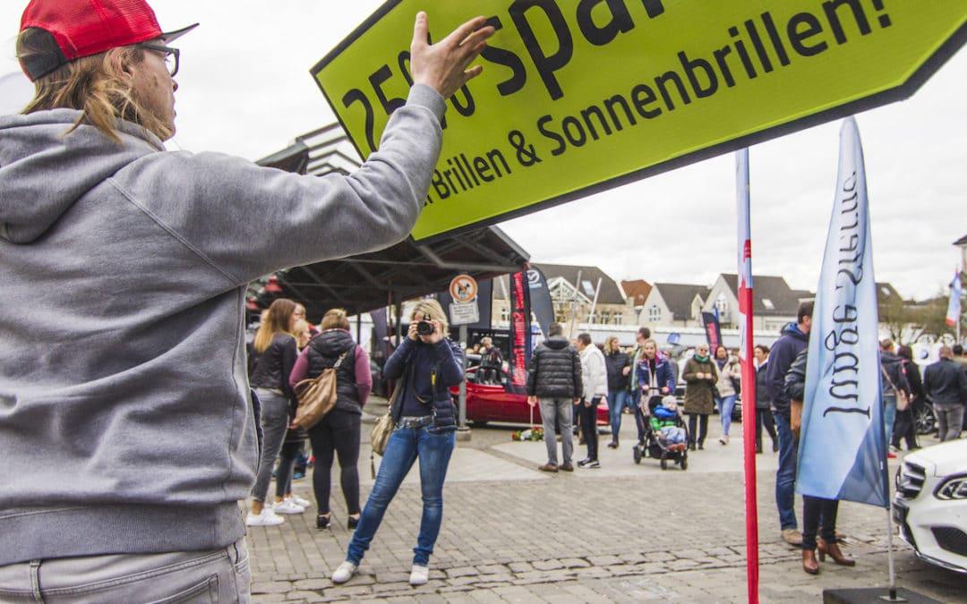 Erfolgreiche Werbekampagnen in der Fußgängerzone