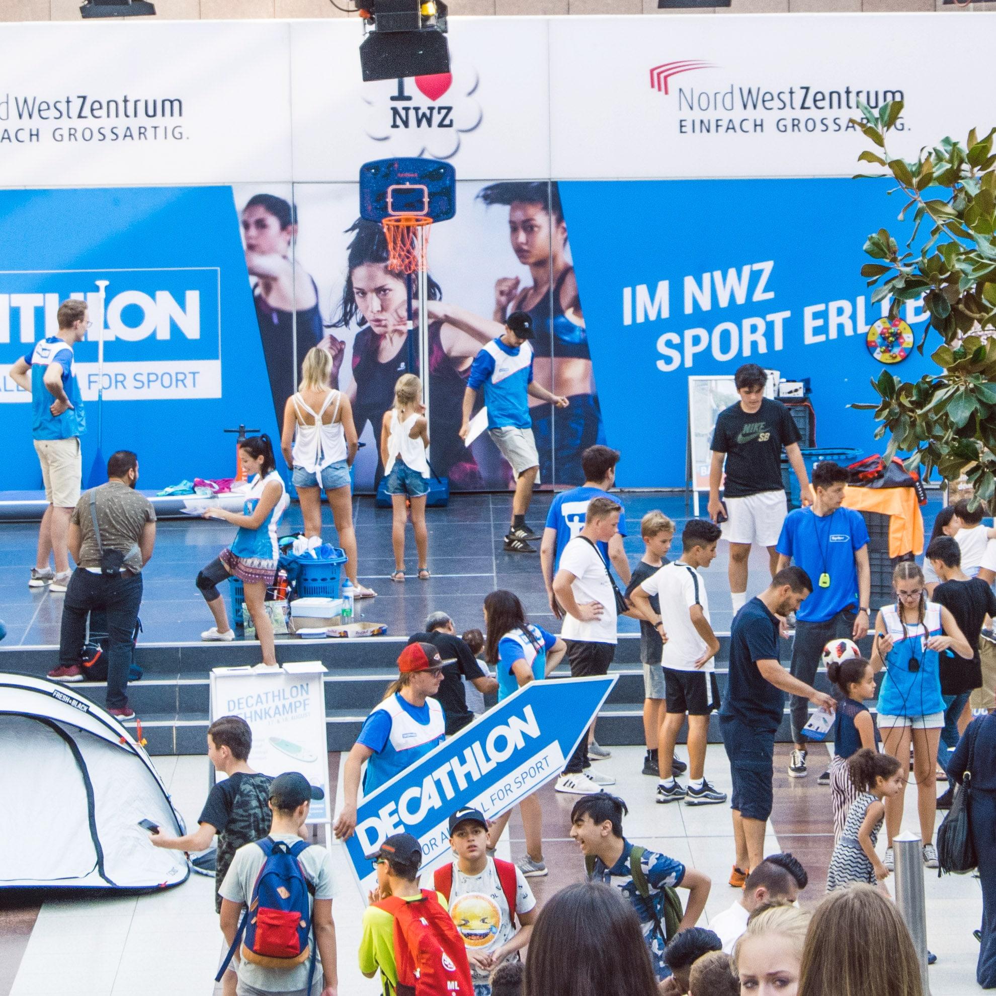 Event Decathlon Eröffnung