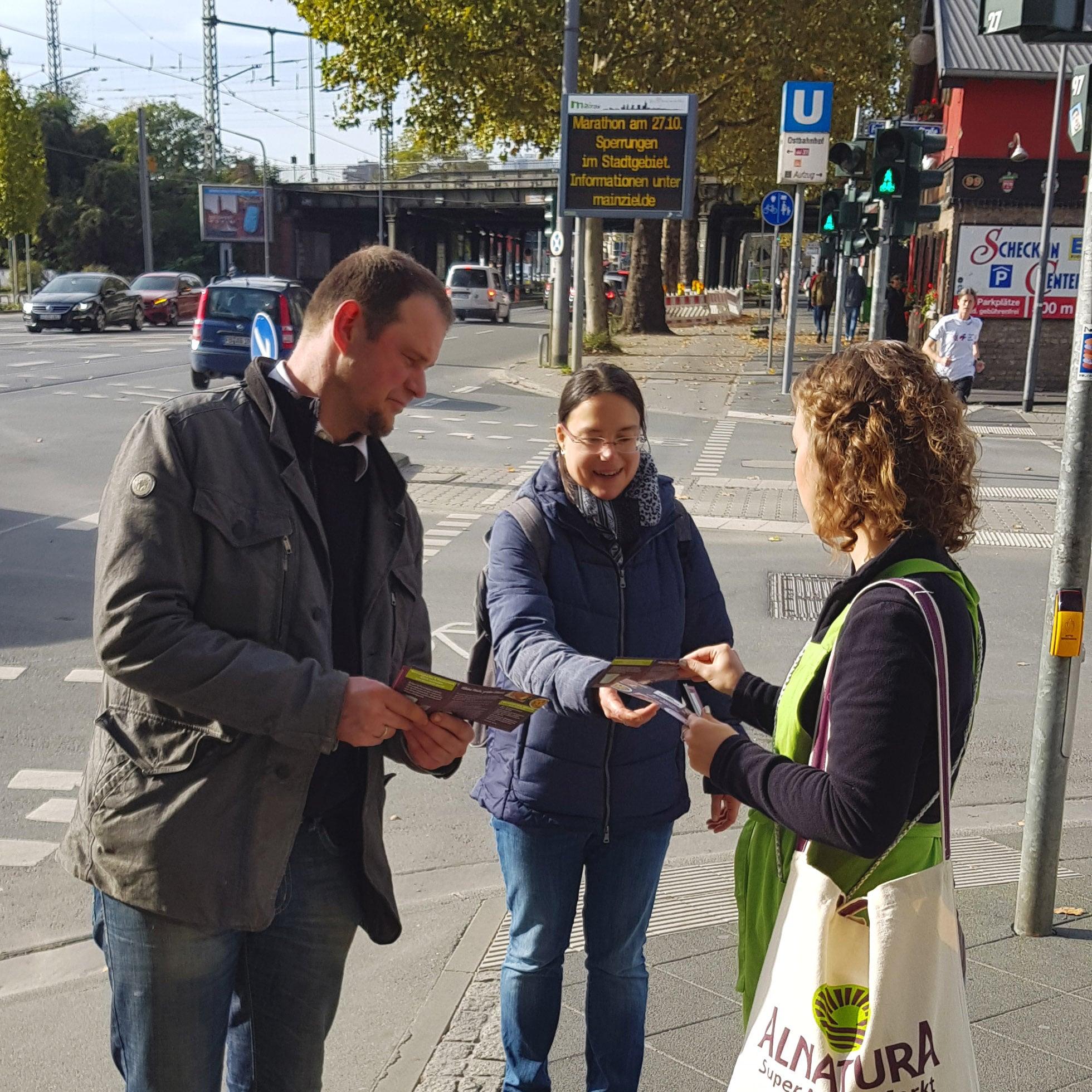 Street Influencer im Einsatz für Alnatura