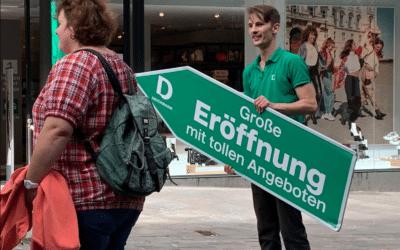 Deichmann Eröffnung in der Hansestadt Lübeck