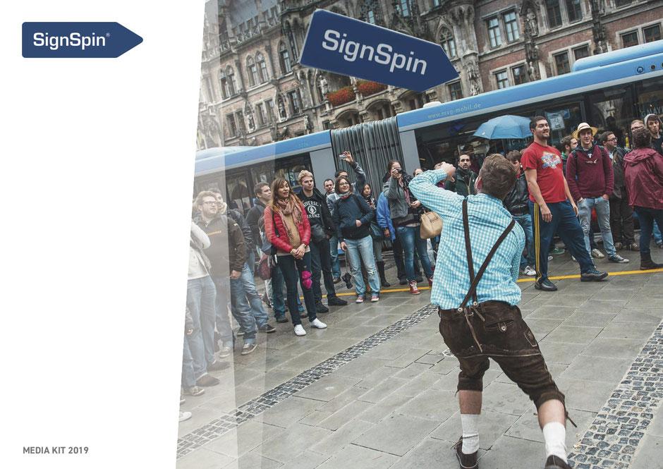 SignSpin Media Kit 2019